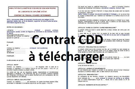 Telecharger Un Contrat De Travail Gratuit