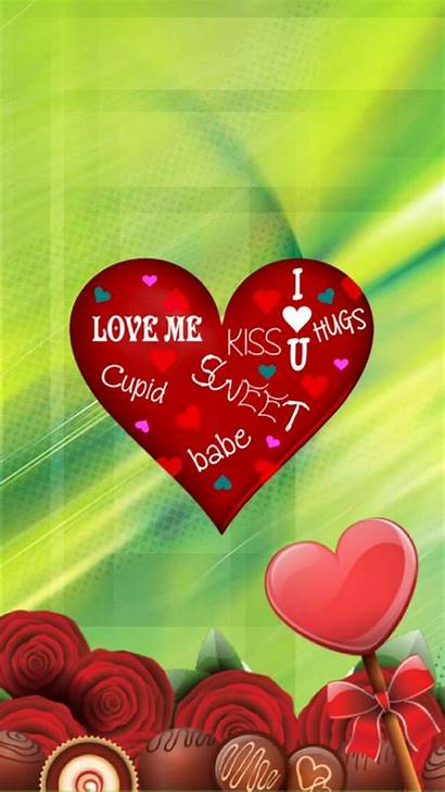 Valentine Valentines Wallpapers Happy Iphone Mobile Screen
