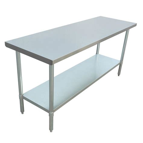 metal kitchen table excalibur stainless steel kitchen utility table