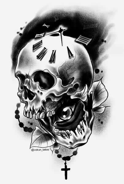Skull Tattoo Meaning - The Devil's Playground ltd