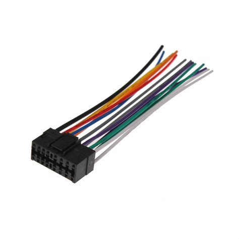 car stereo cd player wiring harness wire adapter  sony