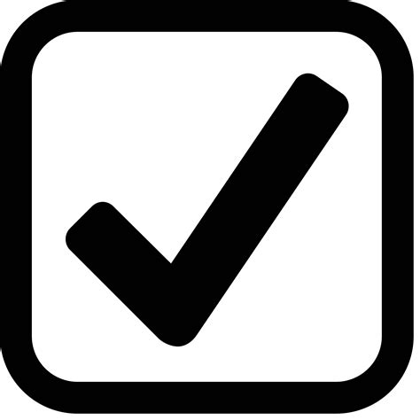 Checked Checkbox Icon  Free Png And Svg Download