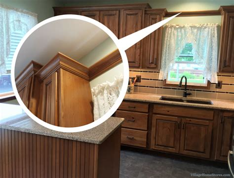 How To Install Crown Molding Or Valance Board Martha Stewart Kitchen Ideas Small Black Flies In Modern Furniture Dresser How To Build Your Own Island Table Two Chairs Marble Design Long