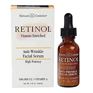 Amazon.com: Retinol Anti-Wrinkle Facial Serum: Beauty