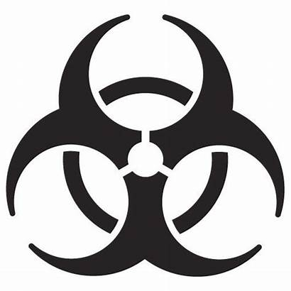 Quarantine Symbol Zombie Warning Apocalypse Sticker Rat