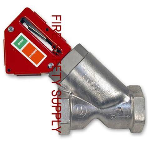Kitchen Gas Valve by Ansul 55607 Gas Valve Mechanical 1 1 2 In