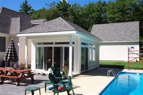 Modern House Plans With Pool Design Swimming Built Around