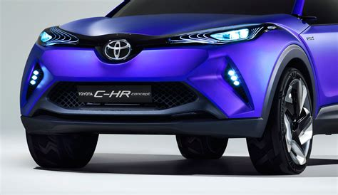 Toyota C Hr Concept First Images Car Body Design