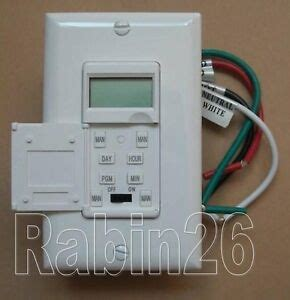 new 7 days digital led light in wall programmable timer