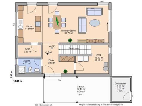 Doppelhaushälfte Grundrisse Modern by Grundriss Haus Modern Suche Wohnraum
