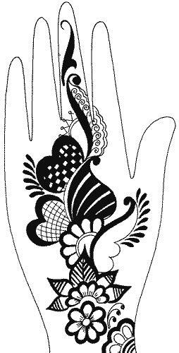Henna Mehndi Designs For Hand Feet Arabic Beginners Kids Girl 2013 | Tattoo design for hand