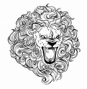 Great Lion tattoo sketch | Illustration | Pinterest | Lion ...