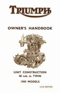 Triumph Bonneville Handbook 1969 Usa Tiger 650 And Trophy 650