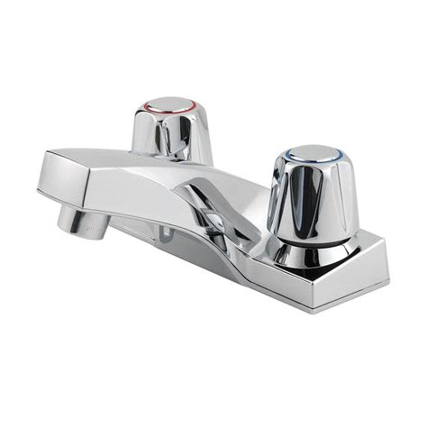 Pfister Faucets Bathroom by Pfister Pfirst Series 4 In Centerset 2 Handle Bathroom