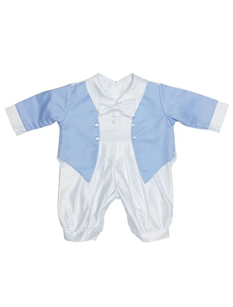 baby boy jumpsuit baby boys christening white romper suit white