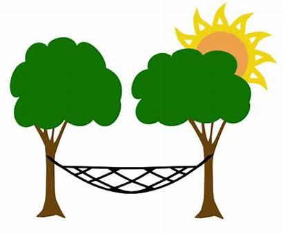 Hammock Summer Lazy Clip Days Carolina Tree