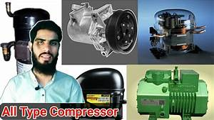 All Type Compressor Of Refrigeration And Air Conditioning