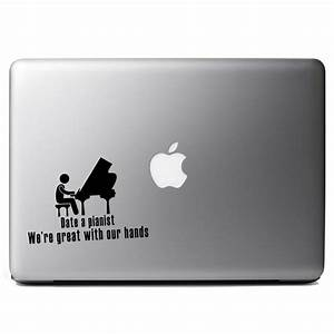 funny date a pianist great with hands vinyl sticker laptop With kitchen colors with white cabinets with funny laptop stickers