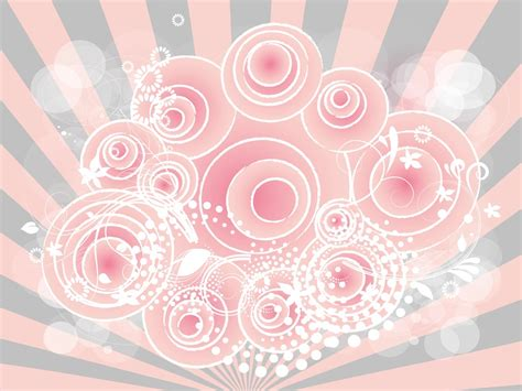 Girly Background Vector Art & Graphics