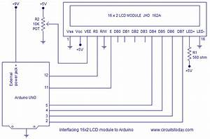 Interfacing Lcd To Arduino  U2013 Display Text And Characters