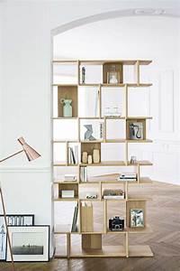 Etagere Bois Design : 33 id es de biblioth que modulable ~ Teatrodelosmanantiales.com Idées de Décoration