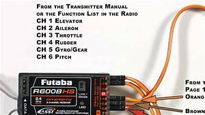 Microbeast V3 - Futaba Standard Receiver Connections