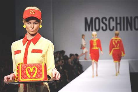 cuisine america moschino 39 s 1 000 mcdonald 39 s inspired dress is about more
