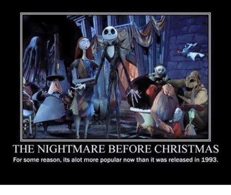 Nightmare Before Christmas Meme - funny release memes of 2016 on sizzle dumb