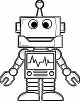 Robot Coloring Drawing Robots Line Drawings Printable Sketch Cool Colouring Sheets Pencil Awesome Adult Boundary Divergent Dog Illustration Getdrawings Popular sketch template
