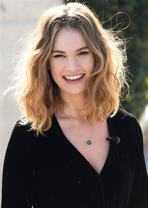It's Lily James's 27th Birthday! | InStyle