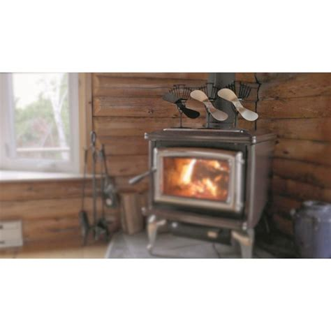 wood stove fans on top of stove ecofan airmax heat powered wood stove fan 216268