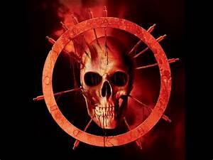 Skull skulls dark demon satanic satan evil occult blood ...