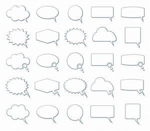 Stock Graphic - Empty Speech Bubbles » Logotire.com