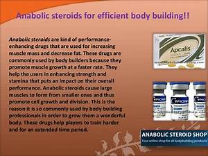 Injectible Anabolic Steroids