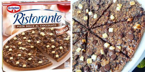 jeux de cuisine de pizza au chocolat dr oetker lance sa pizza surgelée au chocolat