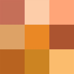 orange colour the free encyclopedia still material copper