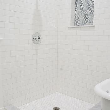 Grey Bathrooms Ideas Blue Gray Subway Tile Shower Design Ideas