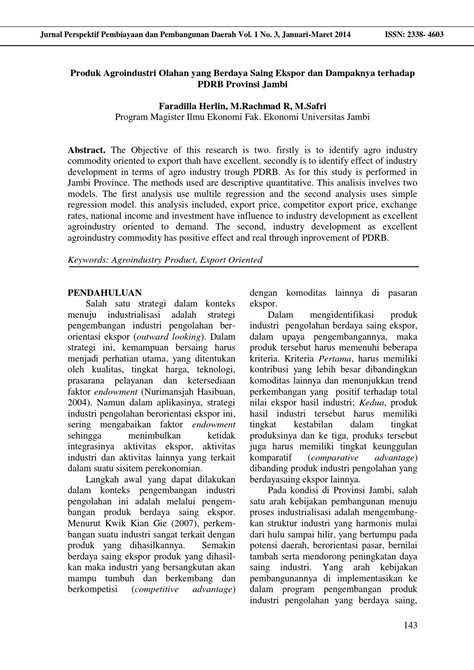 Jurnal faradilla herlin (hal 143 148) by Jurnal Perspektif
