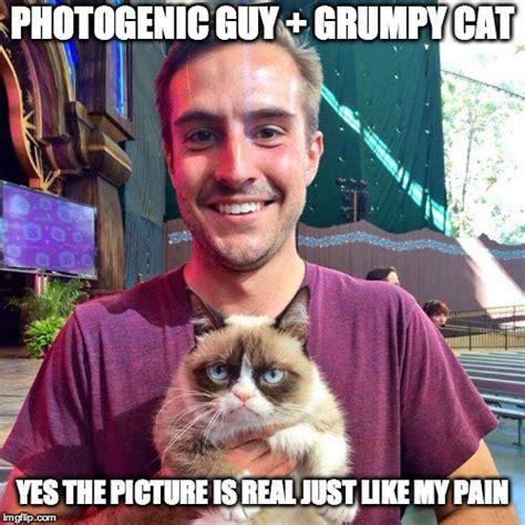 Photogenic Guy Grumpy Cat V20 Imgflip