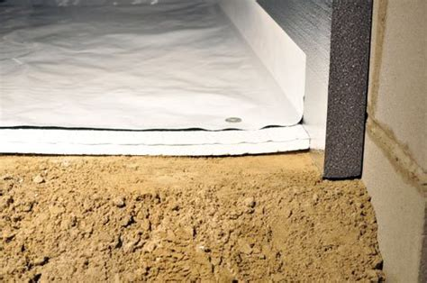 Crawl Space Vapor Barrier   CleanSpace® 20 mil Polyethylene