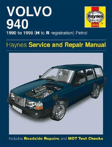 volvo  petrol   haynes service repair manual uk