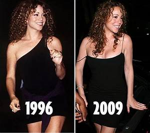 Mariah Carey goes back to 80s look with curls - Mirror Online