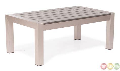 Brushed Aluminum Outdoor Furniture