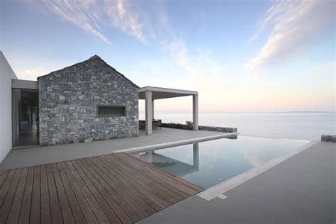 villa melana a modern house in greece with great sea views
