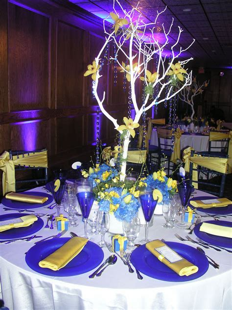 blue and yellow wedding theme quot i m going to the chapel