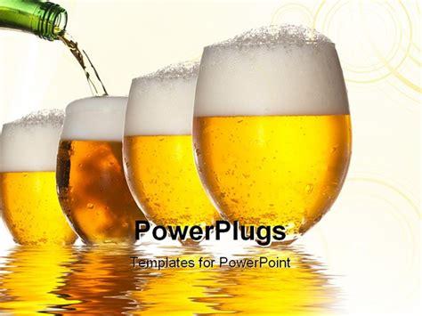 beer bottleneck label powerpoint template beer templates