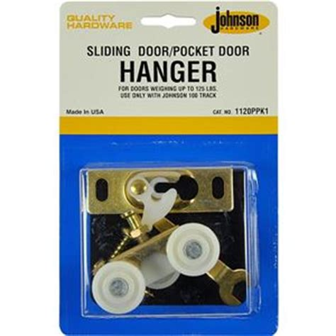 replacement door hanger kit johnsonhardwarecom