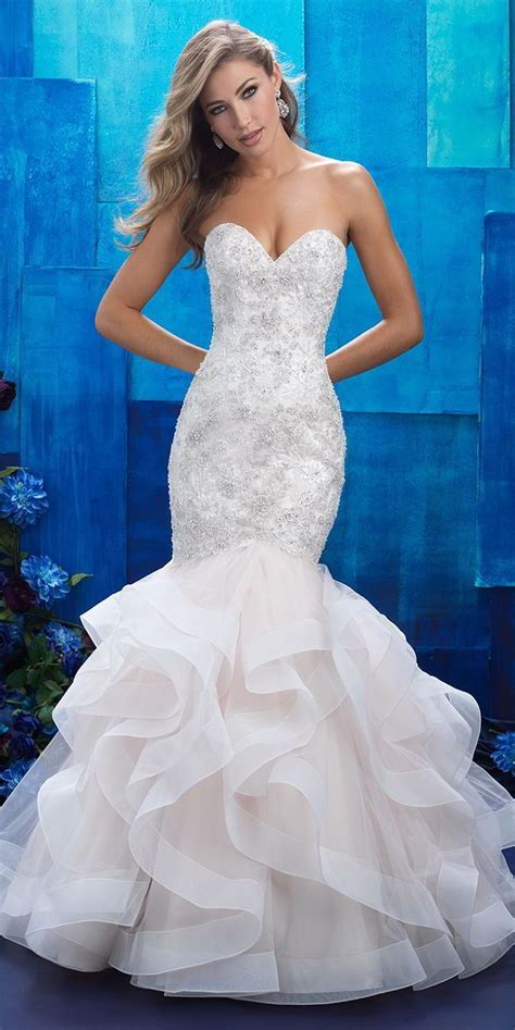 allure bridals spring  wedding dresses wedding gowns