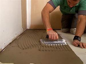 how to install a plank tile floor how tos diy With the best way to install kitchen tile floor