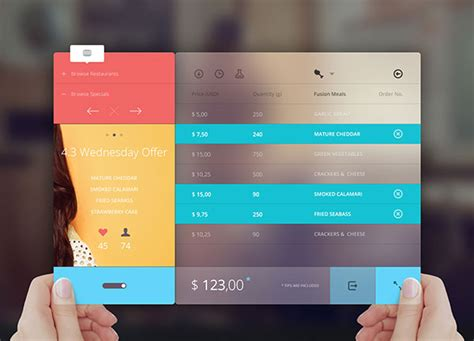 cool transparent ui designs web graphic